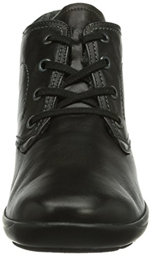 Birgit Women's Short Boots 001 shaft And lined Semler Bootees Black Schwarz Warm Sq7OT7a