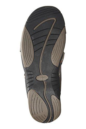 Brown Shore Ladies Summer Sandals Durabe Womens Warehouse Shoes Mountain qwvA48Fx