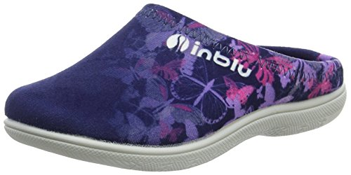 INBLU Mädchen B9000013 Ohne Knöchelriemen Blau