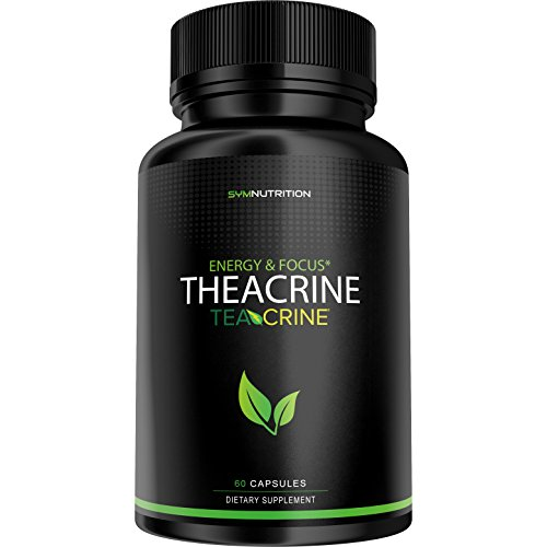 Theacrine 100mg as Teacrine - 60 Count   Better Than Caffeine   Taken for Better Focus, Energy, Mood & Motivation   V-Capsules by SYM Nutrition