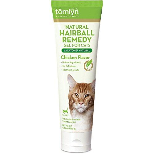 TOMLYN Laxatone Hairball Remedy Gel Chicken Flavor 4.25oz (Hairball Laxatone Remedy Tomlyn)