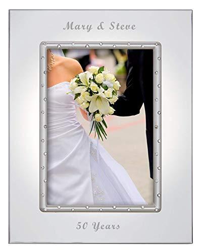 Lenox Devotion 5x7 Personalized Picture Frame, Engraved Frames, Custom Photo Frame
