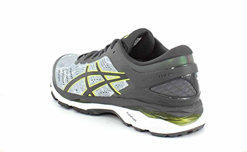 outlet get to buy Asics Mens Kayano 24 Lite Running Shoe Mid Grey/Dark Grey/Safety Yellow low shipping fee with credit card free shipping free shipping newest hw6VAiCzDp