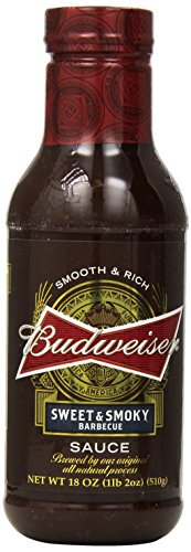 budweiser-bbq-sauce-sweet-and-smoky-18-ounce-pack-of-6