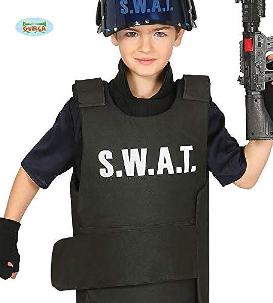 babero bebé chaleco antibalas de SWAT: Amazon.es: Juguetes y juegos