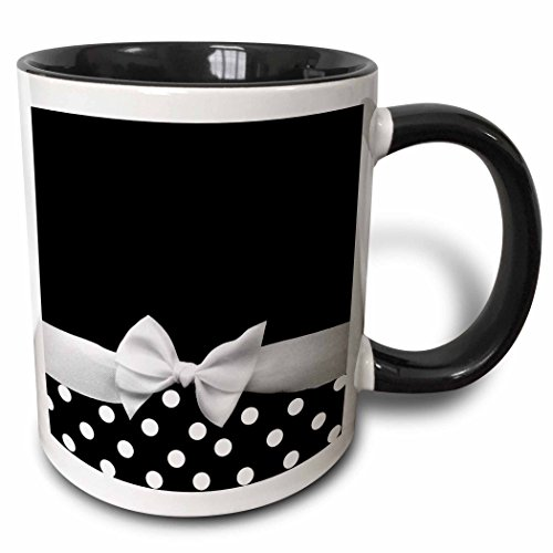 Black Ribbon Coffee - 3dRose mug_56661_4