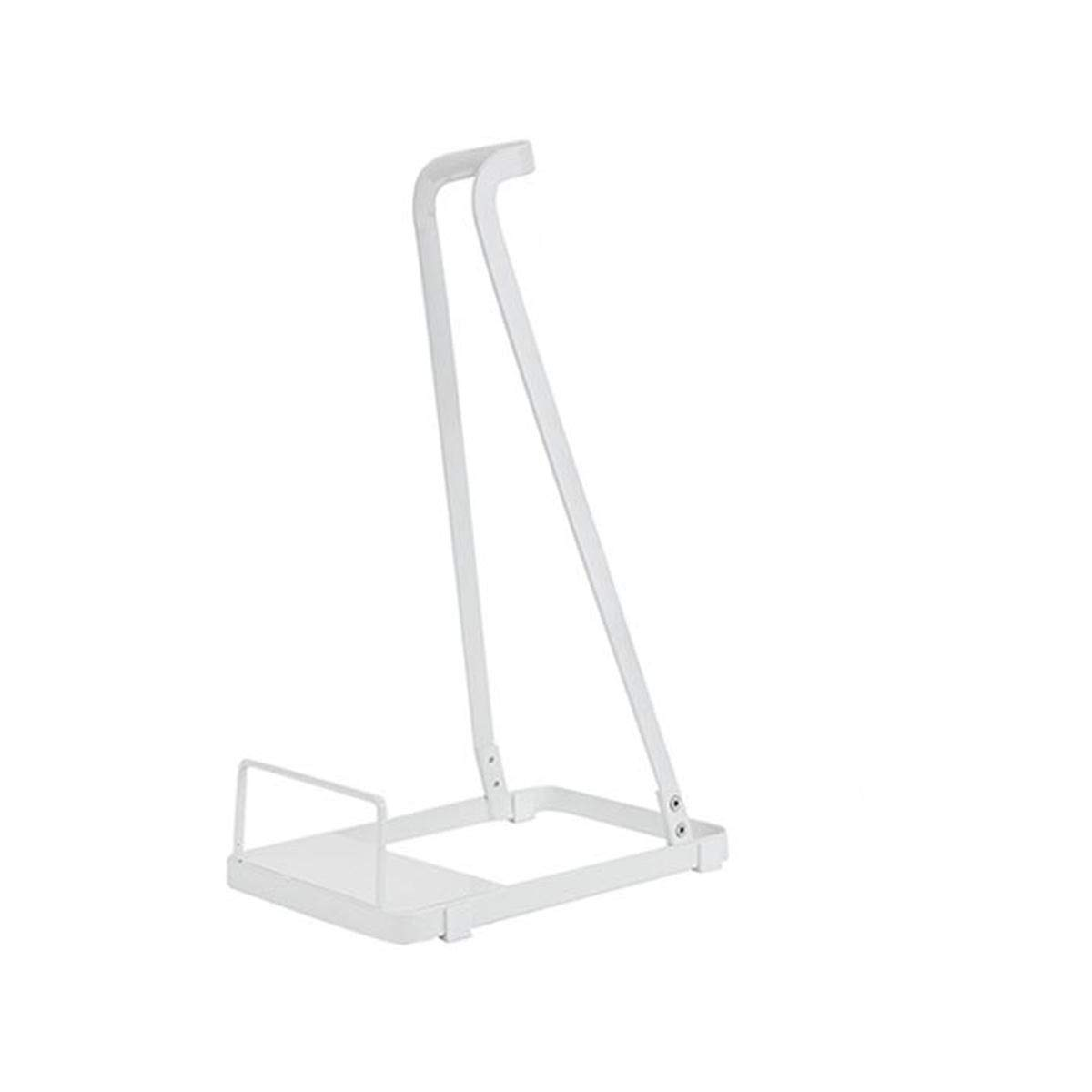 Organizers Vacuum Stand for Dyson,Steel Storage Stand,Home Steel Storage Stand Suit for Stick Vacuums Handheld Vacuums and Canister Vacuums (White)