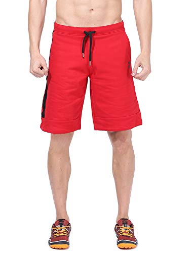 AZANI Men's Polyester Therma Flex Long Shorts (Red, X-Large) (B07L79RB5X) Amazon Price History, Amazon Price Tracker