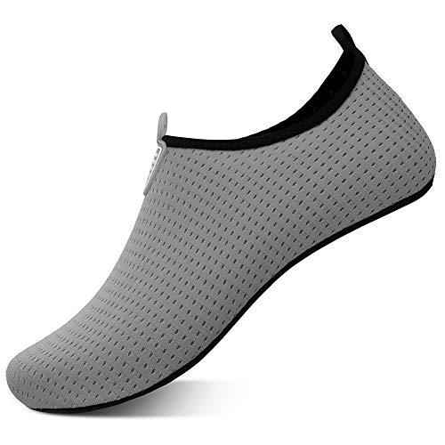 JOCAFIYE Women's Gray Dot 12-13 M Fire and Safety Shoe