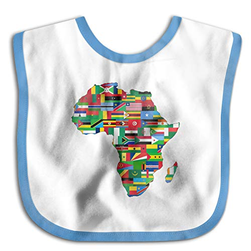 African American Pride Funny Baby Bibs Burp Infant Cloths Drool Toddler Teething Soft Absorbent -
