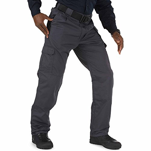 (5.11 Men's Taclite Pro Tactical Pants, Style 74273, Charcoal,)