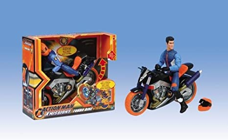 Hasbro Action Man Turbo Bike