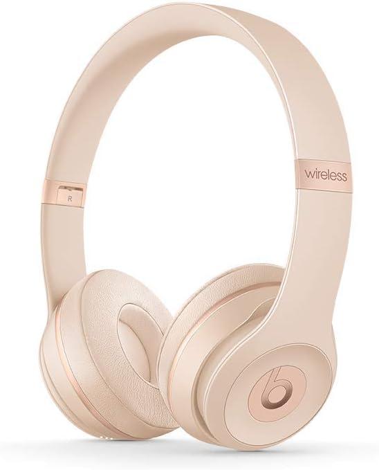 Beats Solo3 Wireless On-Ear Headphones - Matte Gold: Apple: Amazon.es: Electrónica