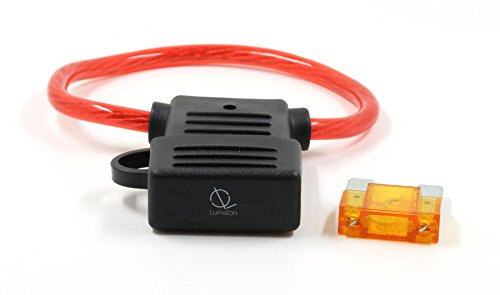 Lumision FAST Shipping MAXI Inline 8 AWG Fuse Holder (Water Proof) + 40 AMP FUSE