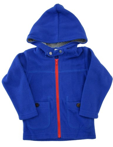 Bit'z Kids Little Boys' Fleece Zip Up Hoodie 18-24 Months -