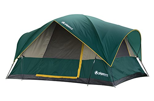 GigaTent Mountain Adams Free Standing Family Cabin Tent, 10 x 7-Feet x - Dome Tent Family Cabin