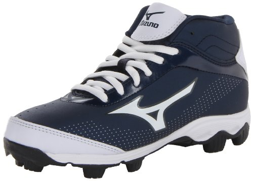 32f08a75a Mizuno Youth Franchise 7 Mid Baseball Cleat (Little Kid Big Kid ...