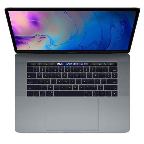 "Apple 15"" MacBook Pro with Touch Bar, Intel Core i7 2.6GHz, Pro 555X, 32GB RAM, 512GB SSD, Space Gray (Mid 2019) Z0WV0005H"
