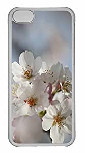 iPhone 5C Case, Personalized Custom Blossom Macro for iPhone 5C PC Clear Case