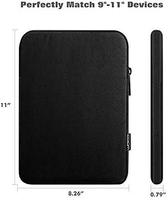 iPad 9.7 MoKo 11 Inch Tablet Sleeve Case Fits iPad Pro 11 2020//2018 Galaxy Tab 10.1 Polyester Bag iPad 7th Generation 10.2 iPad Air 3 10.5 Surface Go 2 10.5 Pink Fit Apple Smart Keyboard