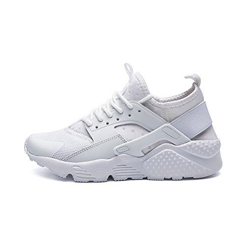 Corsa da XBXB EU Ginnastica Scarpe da Scarpe da Uomo Bianco Corsa Fitness da Camminata da 39 White Leggero Donna Scarpe nOxfnr4