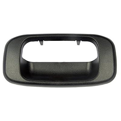 Dorman HELP! 76106 Chevrolet/GMC Black Tailgate Handle Bezel: Automotive