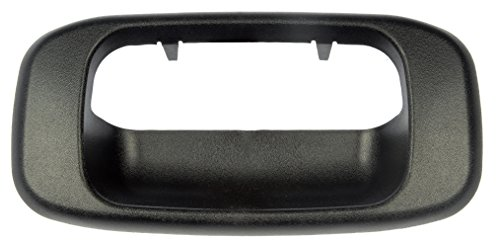 Dorman HELP! 76106 Chevrolet/GMC Black Tailgate Handle Bezel ()