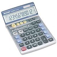 Sharp® VX792C Portable Desktop/Handheld Calculator CALCULATOR,12DGT,SEMI DSK (Pack of2)