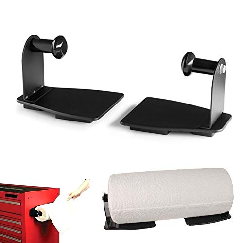 Magnetic Paper Towel Holder for Kitchen or Workshop