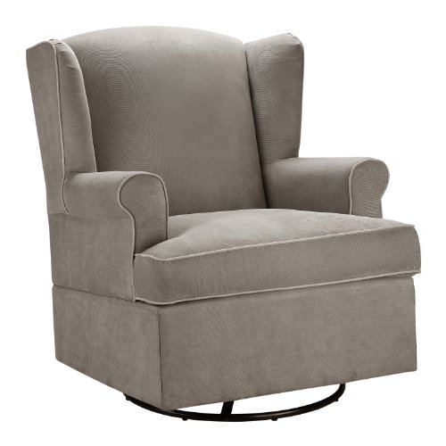 Baby Relax Swivel Glider, Dark Taupe by Baby Relax