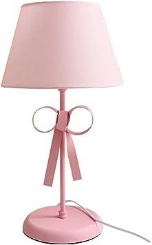 Amazon Com Pink Table Lamp Girl Cute Princess Korean Dream Girl Pink Table Lamp Bedroom Bedside Dressing Table Rustic Style Warm Lighting Furniture Decor