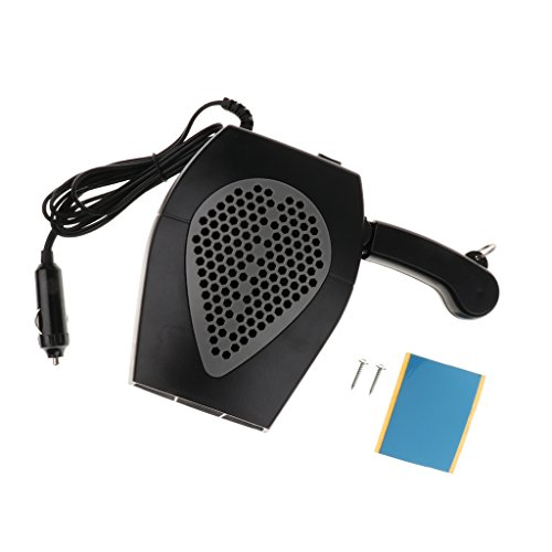 Dolity 2 in 1 12V Car Truck Heater Hot Cool Fan Window Demister Defroster - Black by Dolity (Image #5)