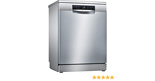 Bosch Serie 6 SMS68II07E lavavajilla Independiente 13 cubiertos A+++ - Lavavajillas (Independiente, Tamaño completo (60 cm), Acero inoxidable, Acero ...