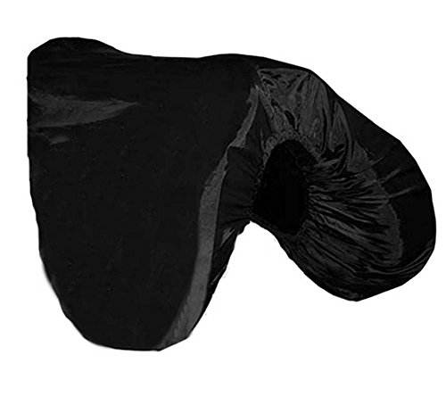 Derby All Purpose Nylon English Saddle Cover with Fleece Lining - Protects Saddles from Dust, Debris, and Damage - Fits Most Sizes and Styles of Saddles - Multiple Colors Available ()