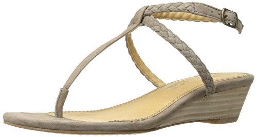 Splendid Women's Jadia Wedge Sandal Lt Taupe