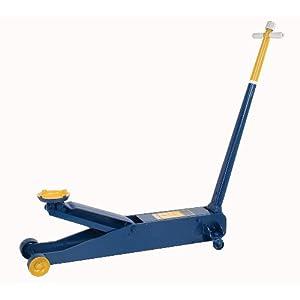 Hein-Werner HW93657 Blue Hydraulic Service Jack - 4 Ton Capacity