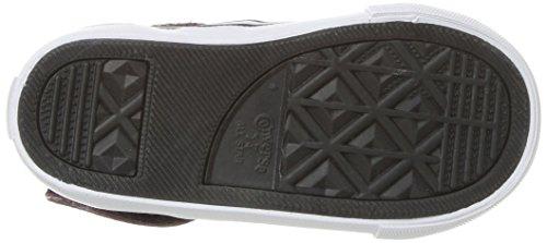Adulto Black Multicolor Strap Converse 613 Dark Burgundy Unisex Zapatillas Pro Deporte de Blaze White 0wwgPqF
