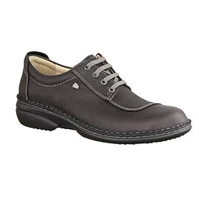 La Modeuse - Zapatos de cordones para mujer, plateado (plata), 36 EU