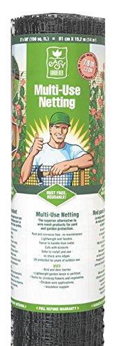 Easy Gardener Multi-Use Netting For Garden Protection, Trellis Netting and Light Weight Fencing, 2 feet x 50 feet