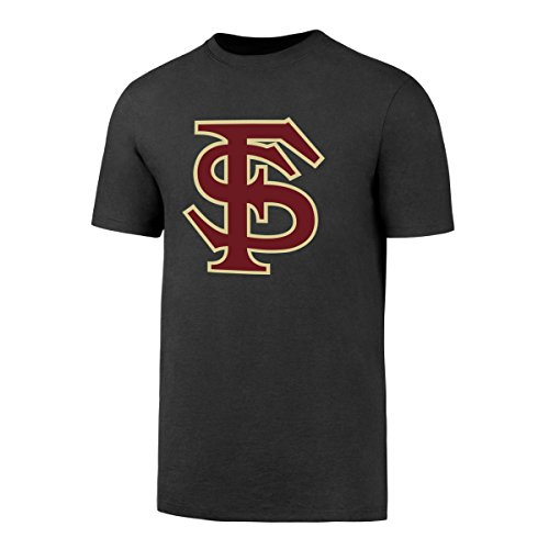 OTS NCAA Florida State Seminoles Men's Alt Rival Tee, Charcoal, XX-Large (Basketball Seminoles Fsu)