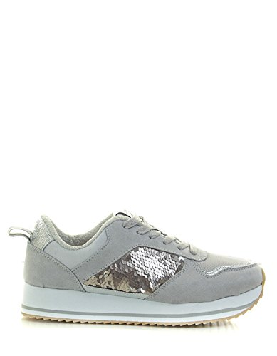 Gris Only Mujer Only Zapato Zapato PCHxwqZ4q