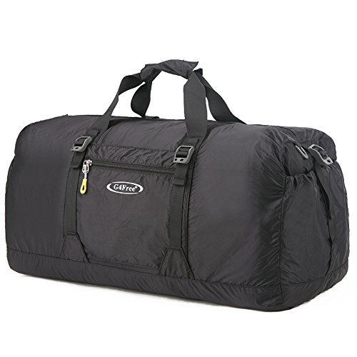 9bfb4b153368 G4Free 60L Lightweight Foldable Travel Duffel Bag Portable Tote Bag Gym  Sports Luggage Camping