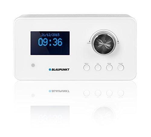 Blaupunkt bietet Internetradios auch als stylische Variante in Weiß an.