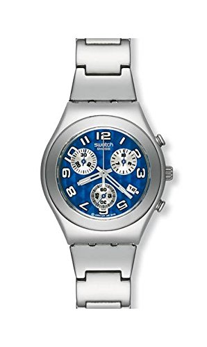 Swatch - Reloj Swatch - YMS405G - Blue Stroke - YMS405G: Amazon.es: Relojes