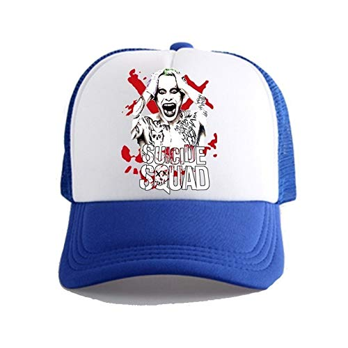 YXSM Movie Suicide Squad Hat Baseball Cap Cosplay