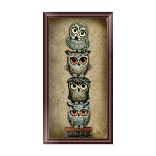 Wrisky DIY Owl 5D Diamond Embroidery Painting Cross Stitch Art Craft Decoration Gift
