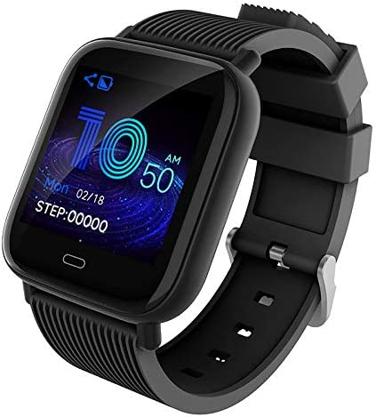 Amazon.com: ApexJoy Waterproof Smartwatch with 24 hour Heart ...