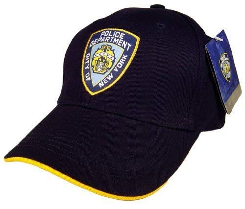 - Anti Crime Security NYPD Baseball Cap Hat Officially Licensed by The New York City Police Department