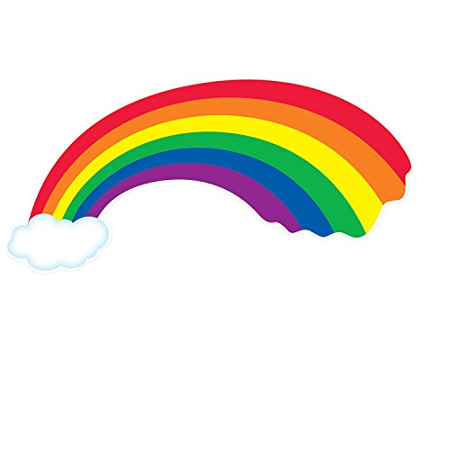 Rainbow Cutout Party Accessory (1 count) -
