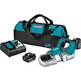 Makita XBP03T 18V LXT Lithium-Ion Cordless Compact Band Saw Kit (5.0Ah)